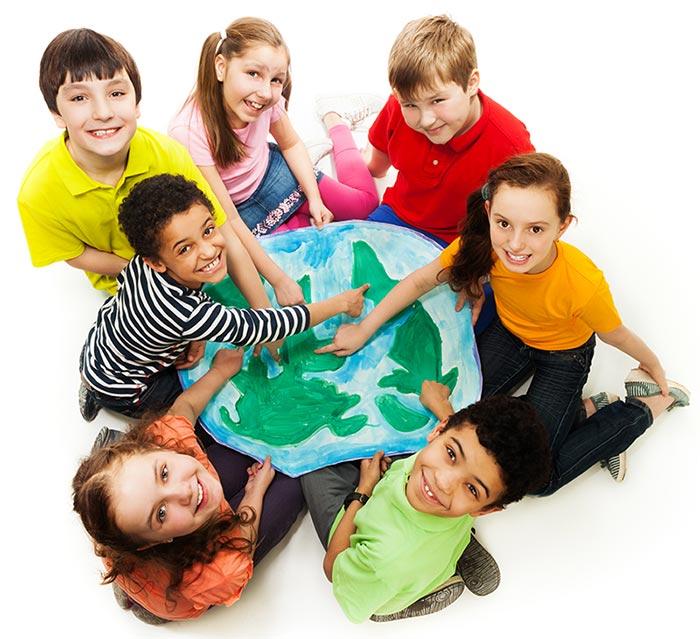globe-kids